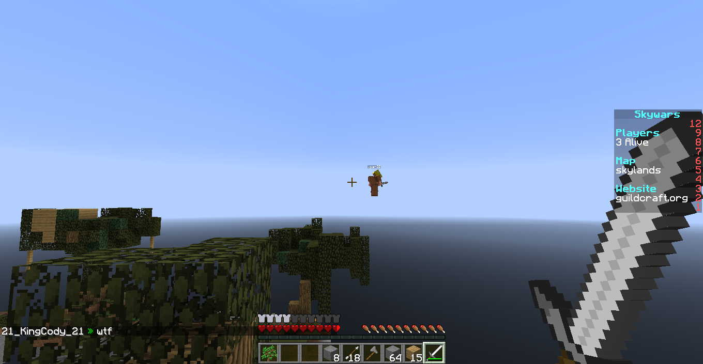 Flying In Skywars  GuildCraft Network - Cracked Minecraft Server